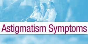 Astigmatism Symptoms Menu Item